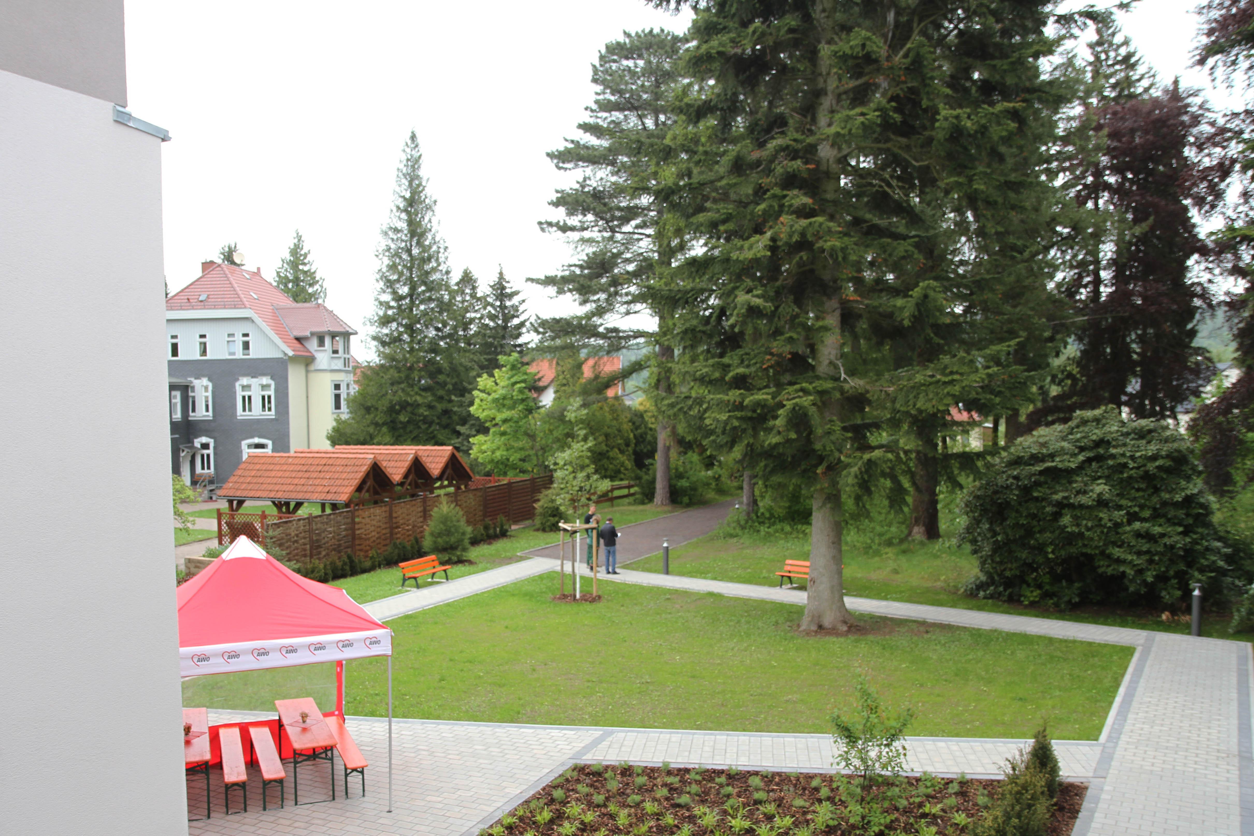 """Der Garten des Wohnquartiers """"Alexandrinenhof"""""""