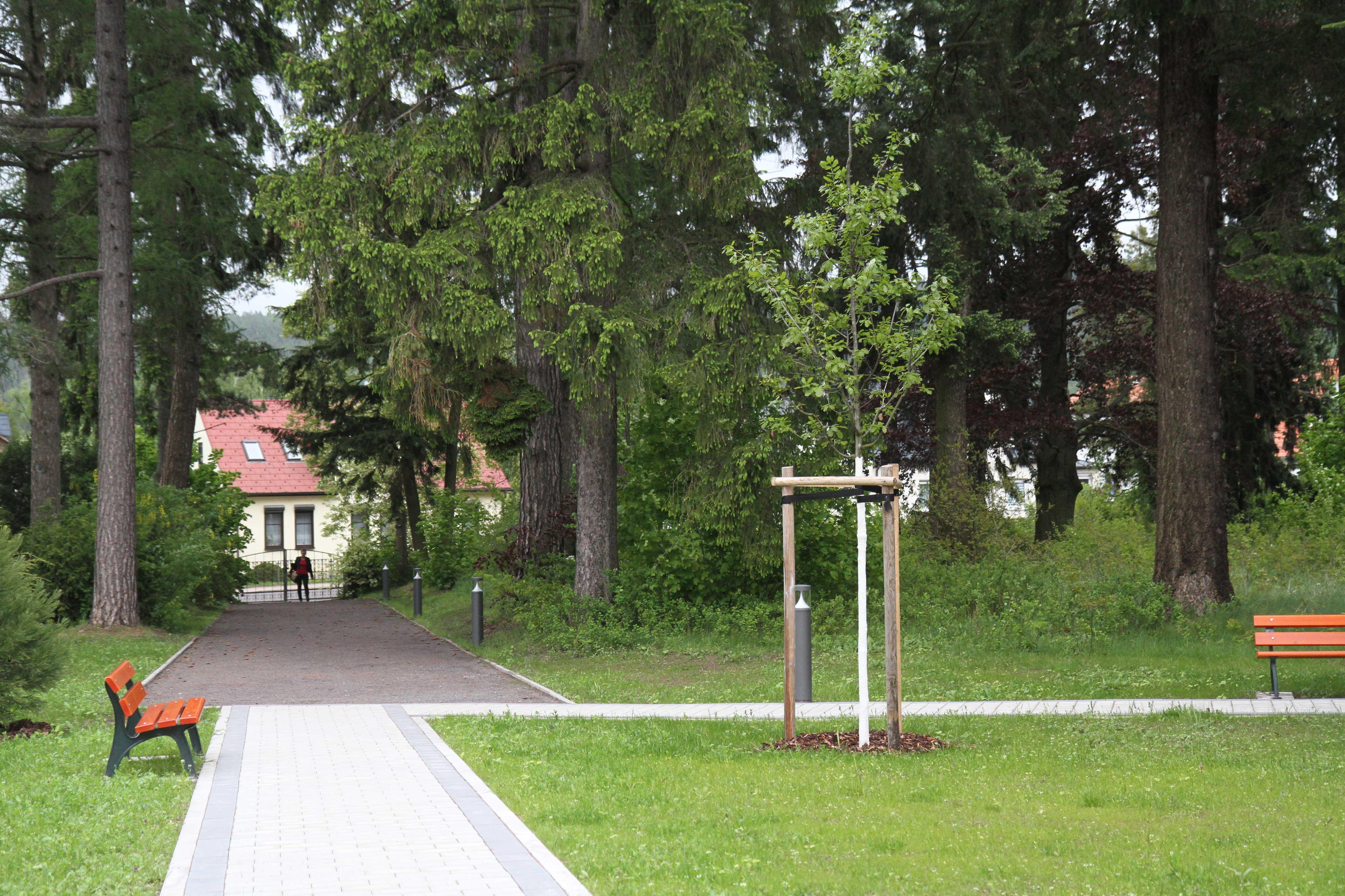 Der Bethesda-Park am Seniorenwohnquartier Bad Tabarz